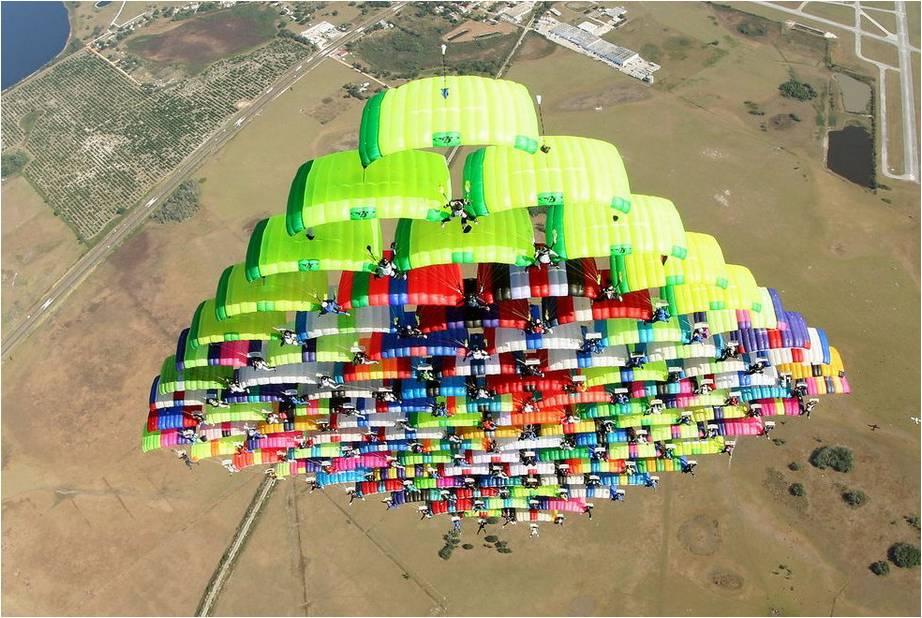 Achtergronden Parachutespringen