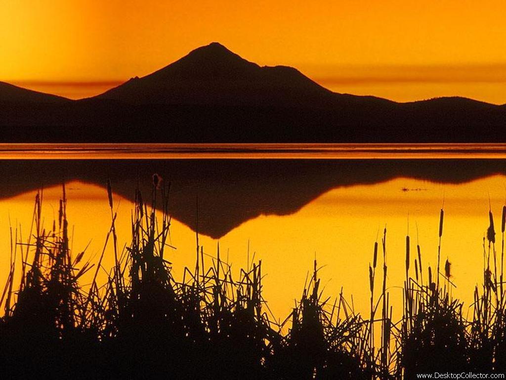 Achtergronden zonsondergang
