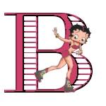 Alfabetten Betty boop 4