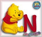 Alfabetten Winnie de pooh 8