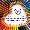 Avatars Regenboog You Color My World Sweetheart