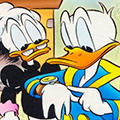 Disney Donald duck Avatars Oma En Donald Duck Horloge