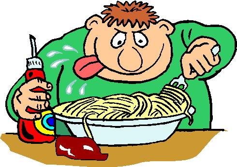 Cliparts activiteiten eten - Snack eten ...