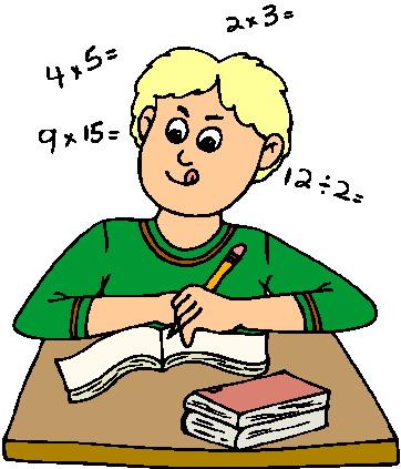 Rekenen Cliparts 187 Animaatjes Nl