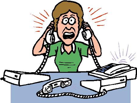 Cliparts Activiteiten Telefoneren 187 Animaatjes Nl