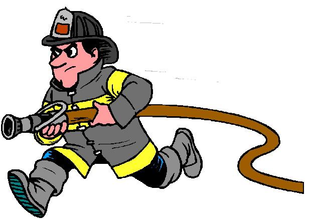 Пожарный картинка анимация, открытка текстом днем
