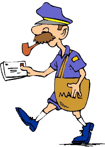 Cliparts Beroepen Postbodes 187 Animaatjes Nl