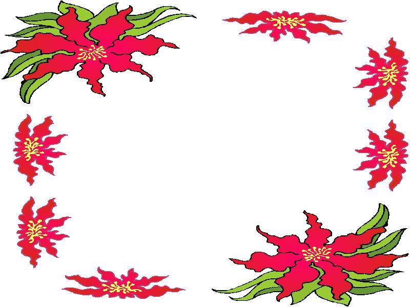 Cliparts Bloemen En Planten Bloemen Kaders 187 Animaatjes Nl