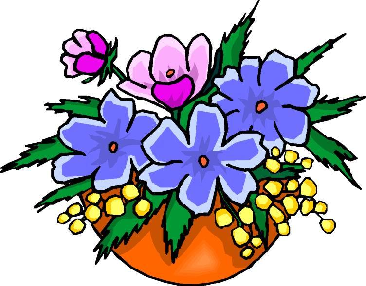 Cliparts bloemen