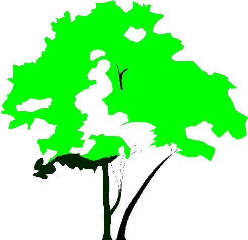 Cliparts bomen