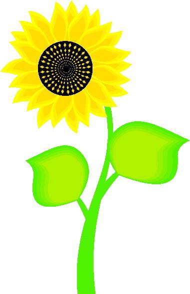 Cliparts Bloemen En Planten Zonnebloem 187 Animaatjes Nl