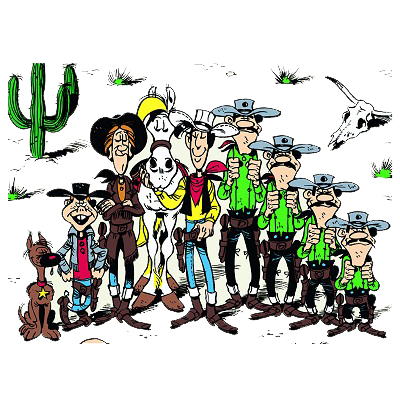 Cliparts Cartoons Lucky luke