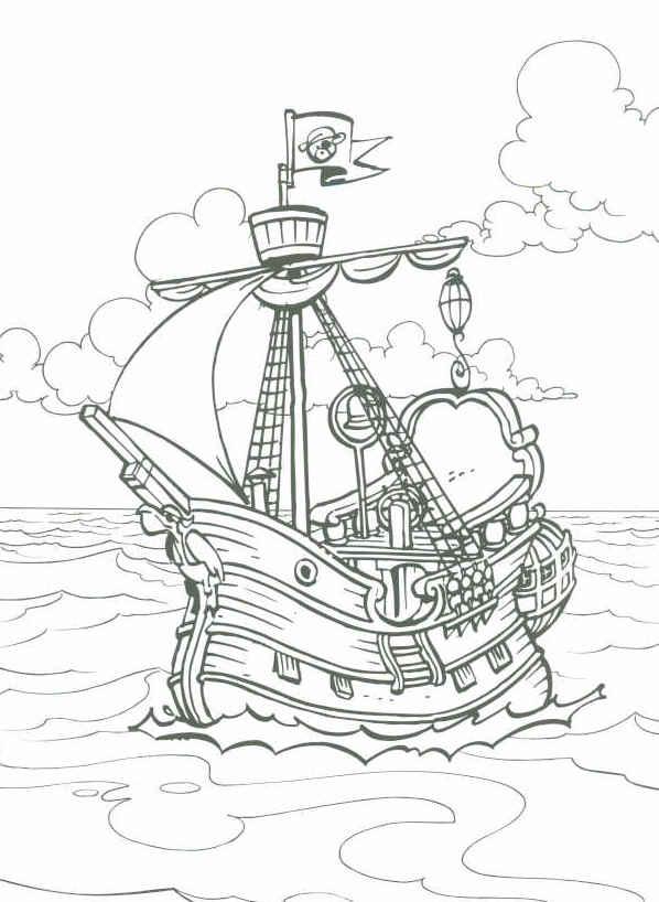 Cliparts Cartoons Piet Piraat 187 Animaatjes Nl