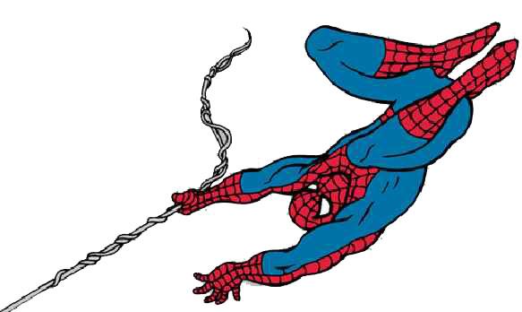 Spiderman Kleurplaten Superhelden Kleurplaten Animaatjes Nl: Cliparts Cartoons Spiderman » Animaatjes.nl