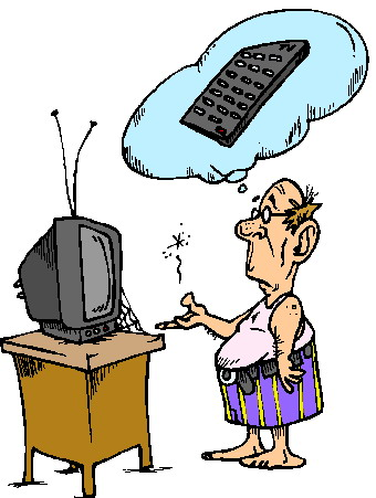 Cliparts Communicatie Televisie