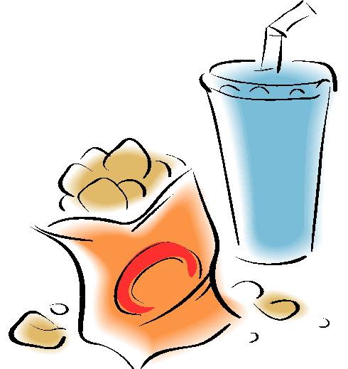 cliparts eten en drinken chips 187 animaatjes nl