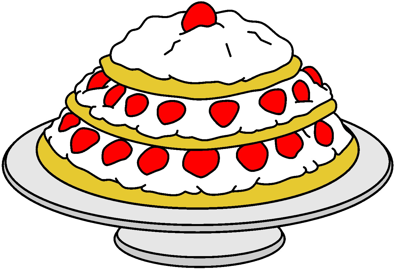 clipart taart Taart Cliparts » Animaatjes.nl clipart taart