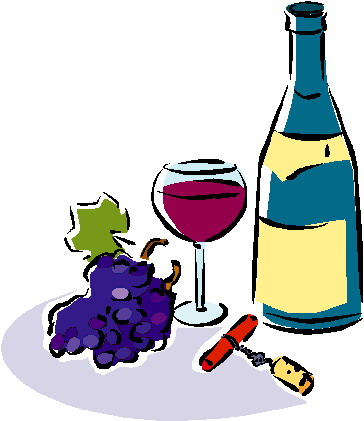 Cliparts Eten En Drinken Wijn 187 Animaatjes Nl