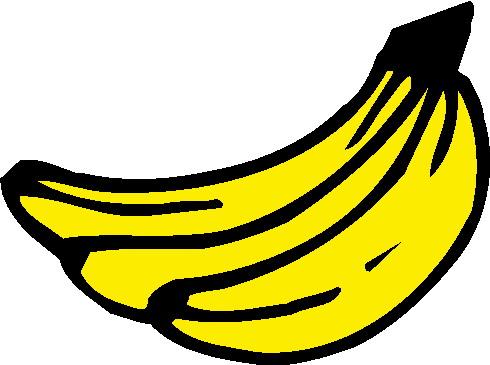 cliparts bananen fruit 187 animaatjes nl