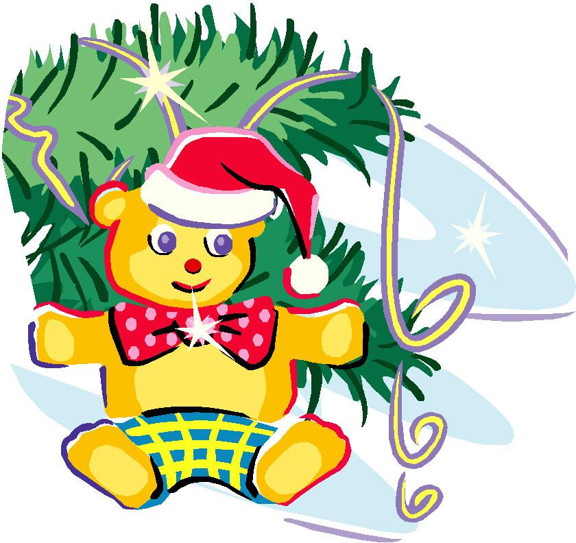 Kerst Beren Cliparts | Animaatjes.nl