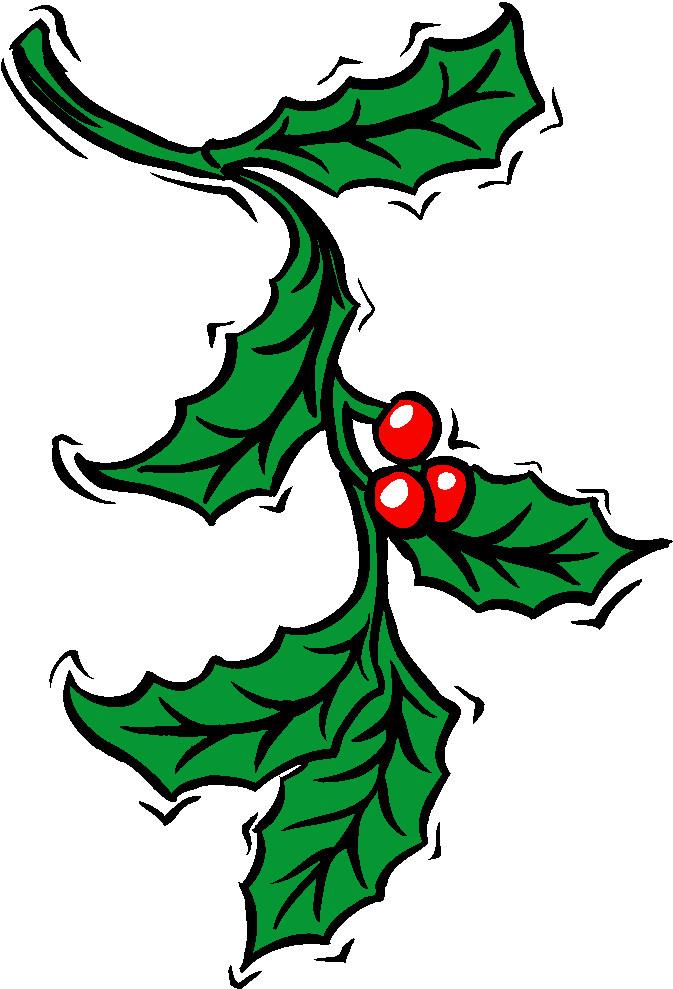 cliparts kerstmis kerst hulst 187 animaatjes nl
