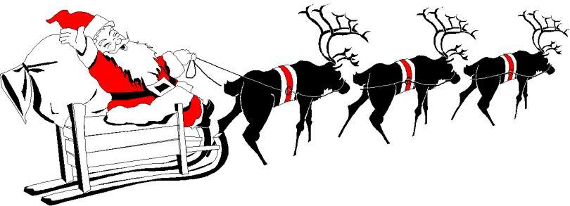 Ongebruikt Cliparts Kerstmis Kerst Sleeen » Animaatjes.nl YK-52