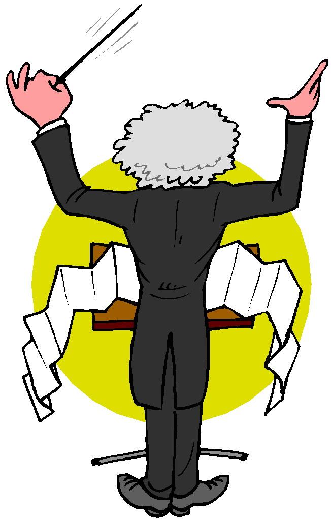 Muziek Dirigent Cliparts 187 Animaatjes Nl