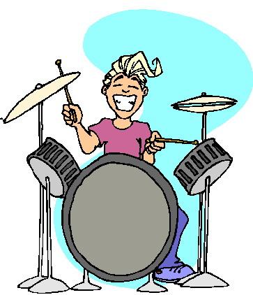 Muziek Cliparts Drumstel 187 Animaatjes Nl