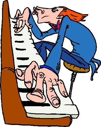 Vleugels En Piano Cliparts Animaatjes Nl