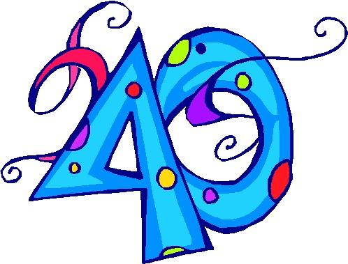Verjaardagsartikelen 40 Jaar
