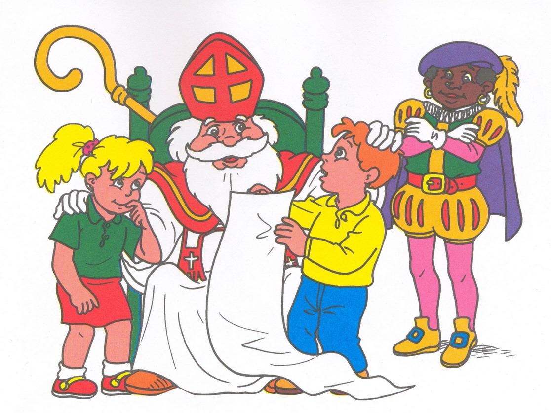 Sint En Piet Cliparts 187 Animaatjes Nl