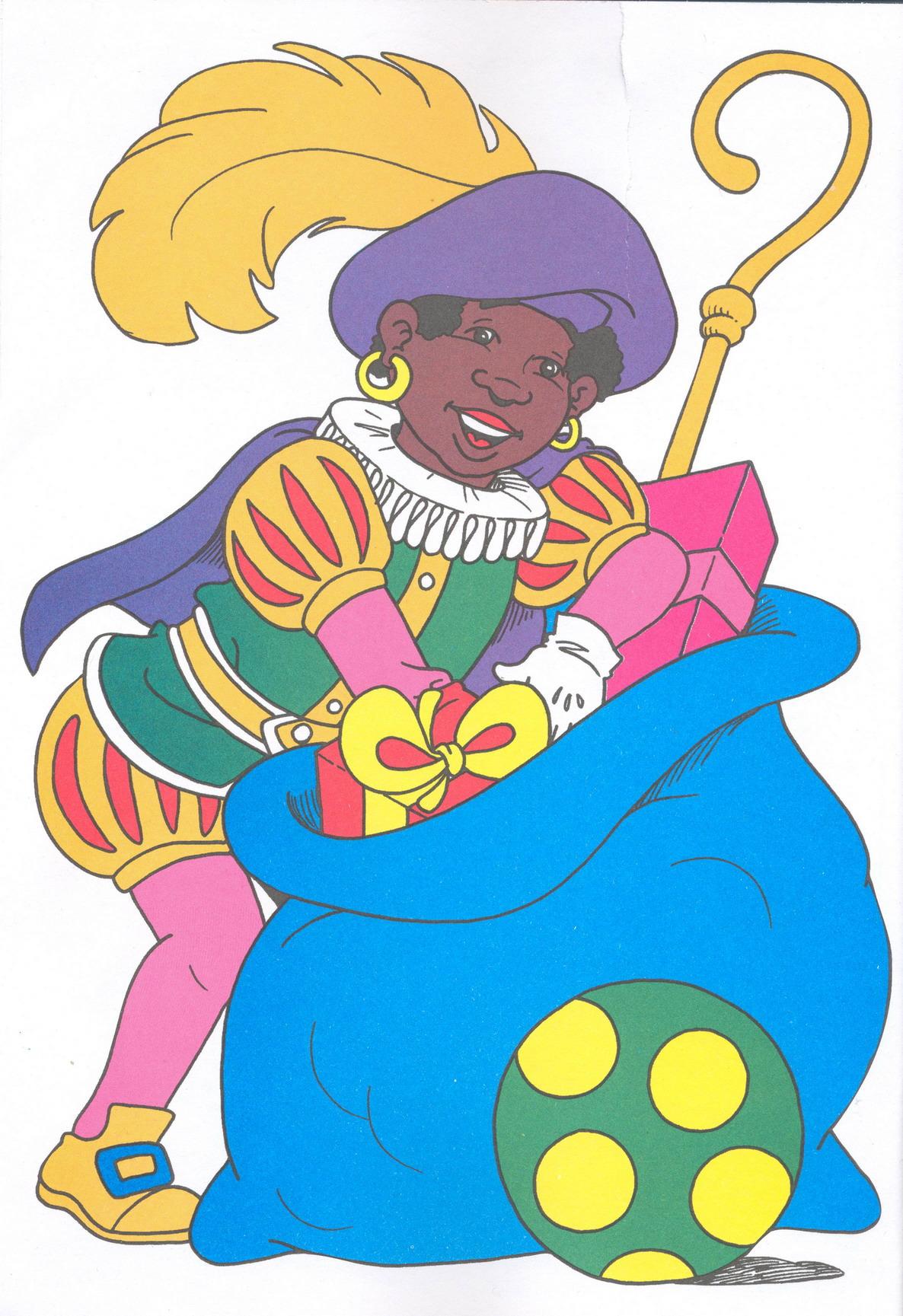 Cliparts Speciale Dagen Zwarte Piet 187 Animaatjes Nl