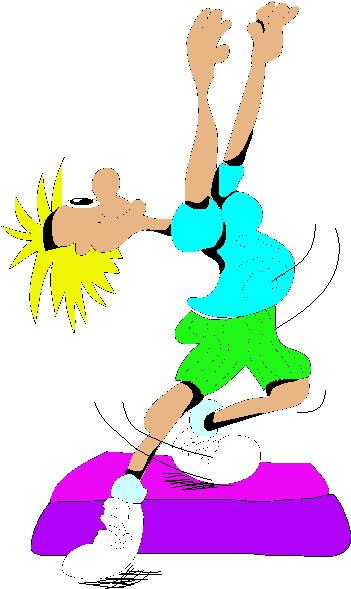 Aerobics cliparts
