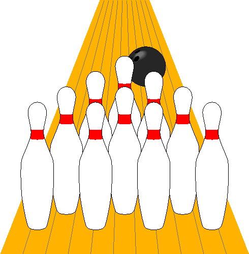 Clip Art Kids Bowling