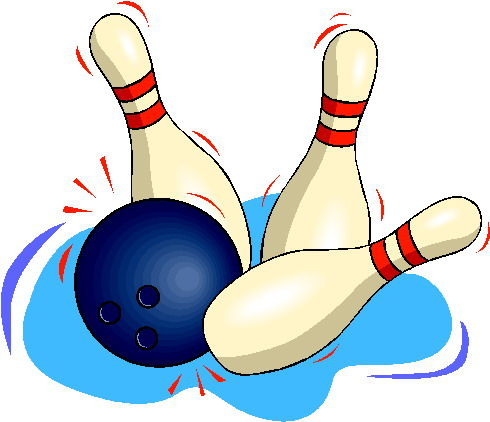 Sport cliparts bowlen for Decoration quille de bowling