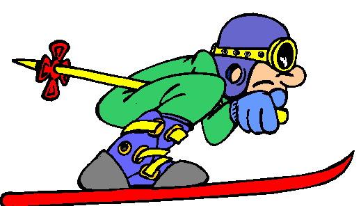 Sport Cliparts Skien » Animaatjes.nl