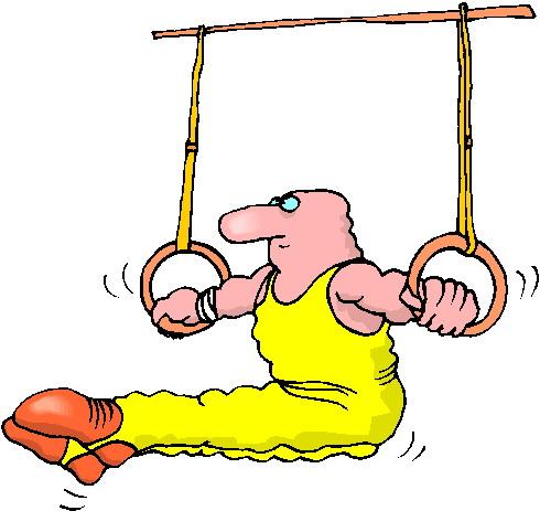 Clipart turnen ringen for Boden cartoon