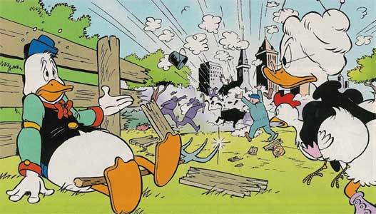 Disney plaatjes Gijs Gans