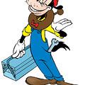 Disney plaatjes Karel paardepoot