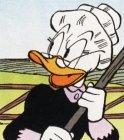 Disney plaatjes Oma Duck