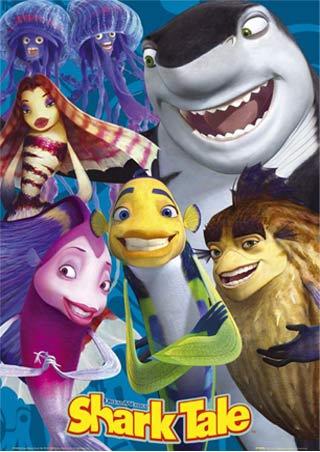 Disney plaatjes Shark tale