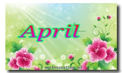April Facebook plaatjes