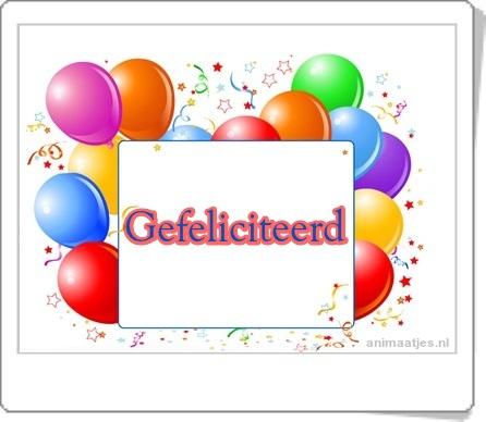 Gefeliciteerd Facebook plaatjes