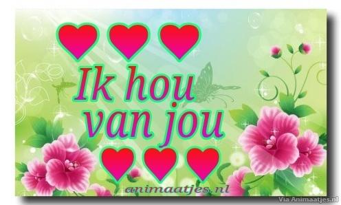Verbazingwekkend Ik Hou Van Jou Facebook Plaatje » Animaatjes.nl LQ-97