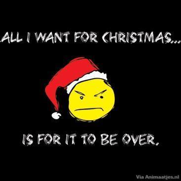 Facebook plaatjes Kerst humor All I Want For Christmas