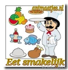 Facebook plaatjes Smakelijk eten