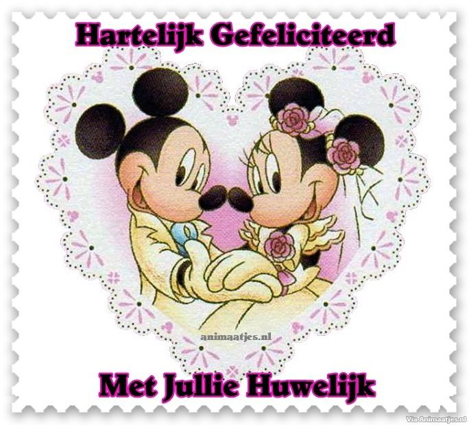 plaatjes trouwdag gefeliciteerd 187 animaatjes nl