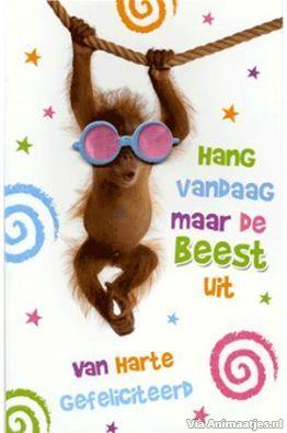 Beroemd Verjaardag Facebook Plaatjes » Animaatjes.nl #NQ53