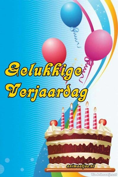 Verjaardag Facebook plaatjes