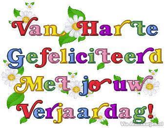 Extreem Verjaardag Facebook Plaatjes » Animaatjes.nl #EK73